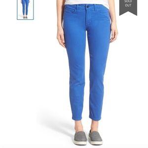NYDJ Jeans Alina Legging Blue Colored Stretch